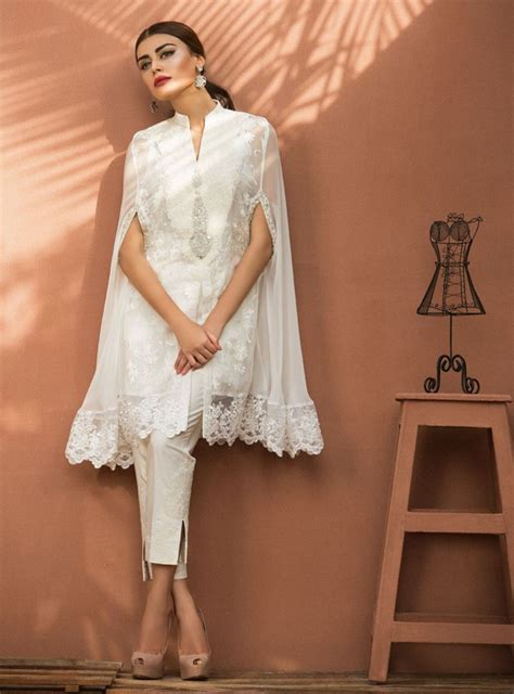 desain for dress best ideas to make the pakistani capes style more elegant