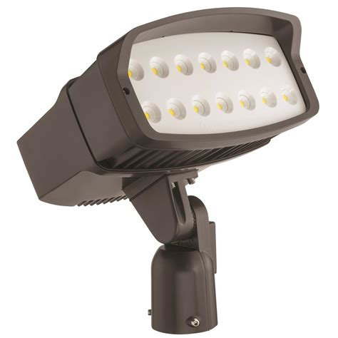 Lithonia Led Outdoor Lighting Lithonia Lighting Ofl2 Led Bronze Outdoor Flood Light Ofl2 Led P3 40k 347 Is Ddbxd M2 The Home