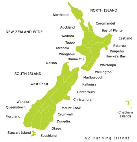 blogger nz geography blog maps regions of new zealand