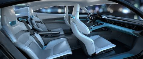 porsche cars interior porsche e mission interior on behance transportation