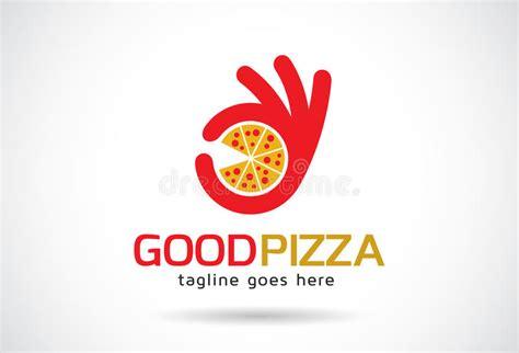 Buona Pizza Logo Template Design Vector Emblema Concetto Di Progetto Simbolo Creativo Icona Pizza Logo Design Template