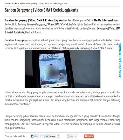blogger umno anak sungai derhaka video seks pemimpin pr perak akan