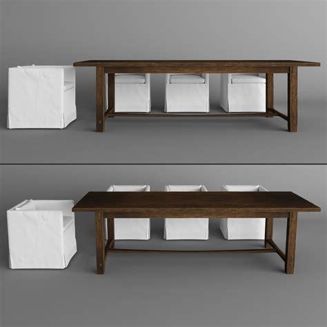armchair for dining table armchair dining table 3d max
