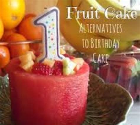 Empeng Buah Untuk Baby diy kek harijadi idea kek buah yang sihat untuk baby