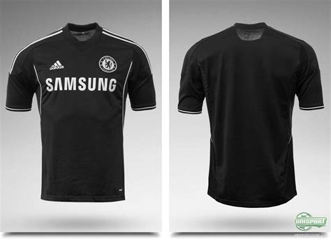 Chelsea Black Shirt chelsea launch their new black third shirt