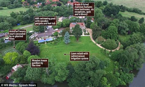 inside george and amal clooney s 17th century mansion in