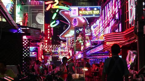 medellin red light district red light district neon lights stock video 12254135