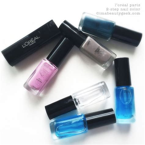 Hair Manicure Loreal l oreal infallible 2 step nail colour part 2 beautygeeks