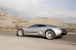 jaguar c x75 aussi au du futur bond