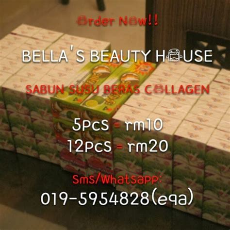 Bedak Collagen equrlz sabun beras collagen dan bedak thanakha