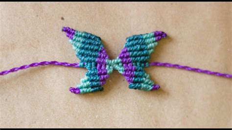 macrame pulseras tutorial pulsera de mariposa en macrame butterfly macrame