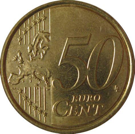 50 buro cent 50 cent albert ii 2nd map 2nd type 2nd portrait