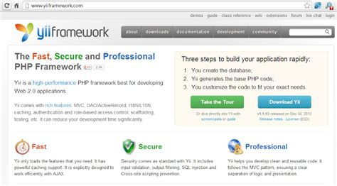 tutorial php yii php tutorial belajar yii framework untuk pemula
