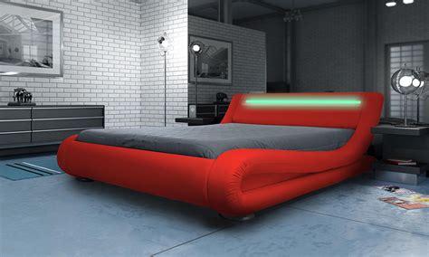 led bed designer madrid bed 163 179 163 329 groupon goods