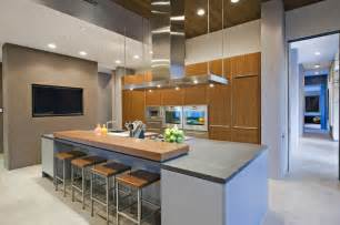 kitchen island with raised bar 64 deluxe custom kitchen island designs beautiful