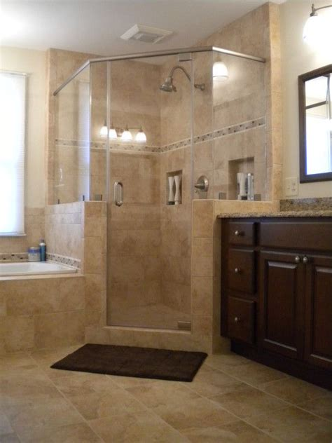 36 best images about bathroom color sles on pinterest spaces corner shower design pictures remodel decor and