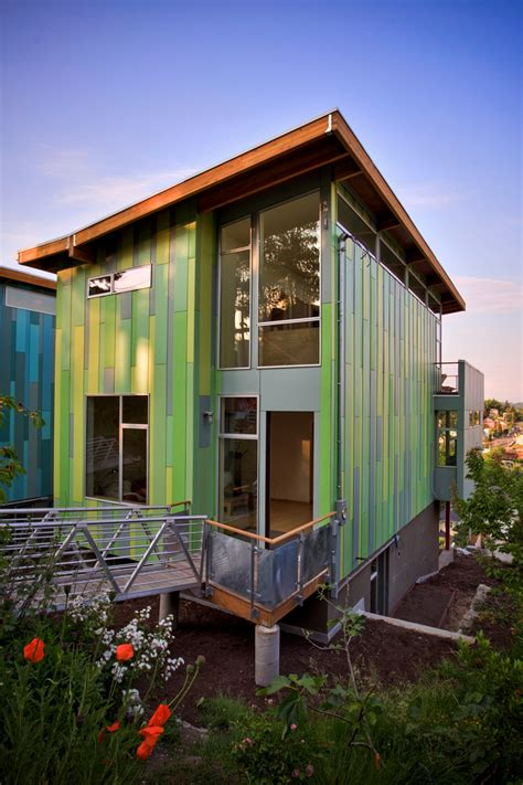 Green Home Design Modern Affordable Eco Friendly Home By Architects
