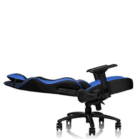 Thermaltake Gt Comfort 500 Gaming Chair tt esports gt comfort series gtc500 faux leather gaming chair black blue gc gtc bllfdl 01