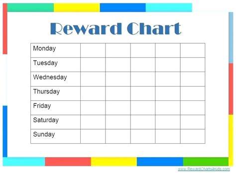 Sticker Chart Template Preschoolers Weekly Behavior Bluedasher Co Free Behavior Chart Template