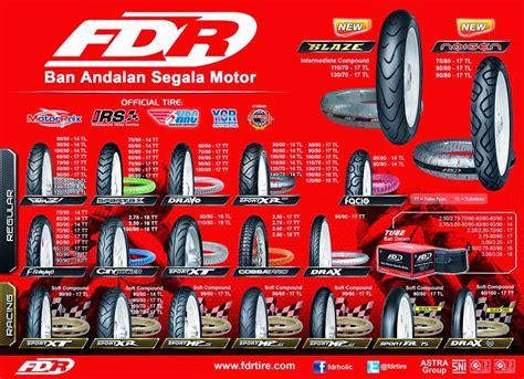 Fdr 70 90 14 Spartax Ban Motor Matic Honda Yamaha Tubetype Matik harga ban motor fdr terbaru 2016