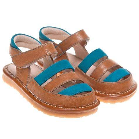 childrens sandals boys childrens toddler leather suede squeaky sandals