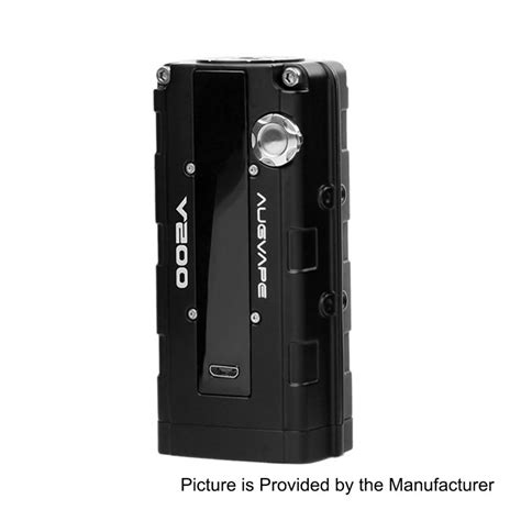 V200 Box Mod Authentic By Augvape authentic augvape v200w black 18650 tc vw variable wattage