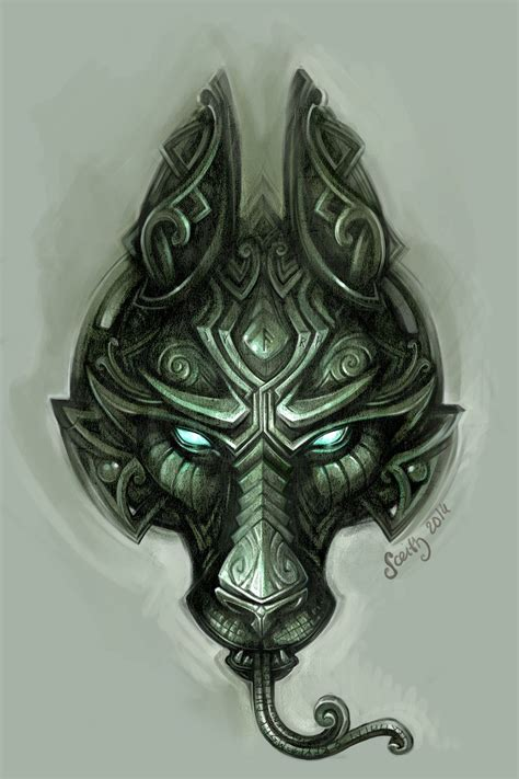 design your own tattoo game fenrir by sceithailm mask equipment gear magic item