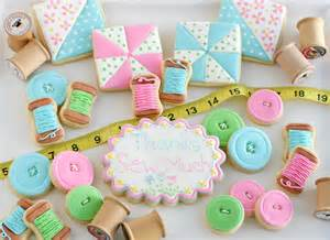 sewing and quilt cookies glorious treats