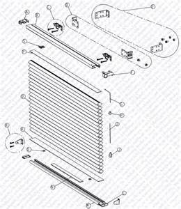 Graber Vertical Blinds Parts Shade Parts Schematic