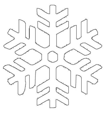 Kostenlose Vorlage Schneeflocke Kostenlose Malvorlage Schneeflocken Und Sterne Schneeflocke 4 Zum Ausmalen
