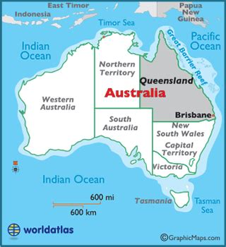 map world brisbane queensland map geography of queensland map of queensland worldatlas