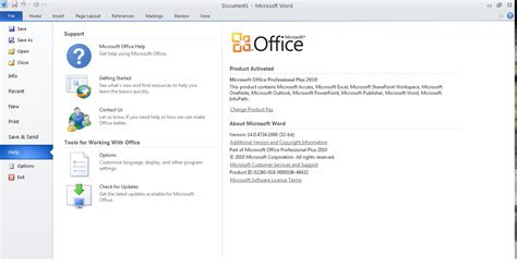 How To Activate Microsoft Office 2010 by Microsoft Office 2010 Activated