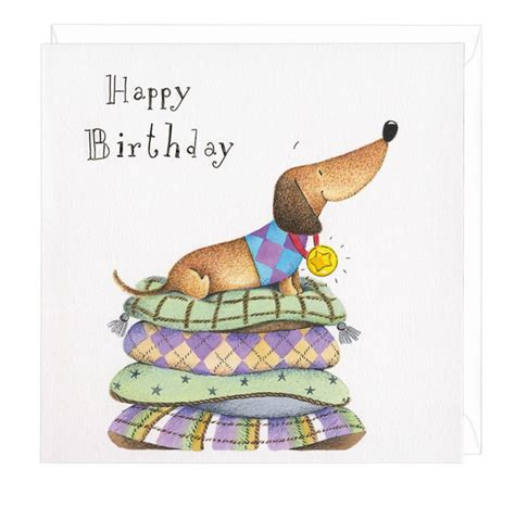 Dachshund Birthday Meme - dachshund happy birthday medal greeting card dachshund