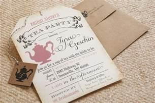 bridal shower tea invitations bridal shower tea invitation poem invitations