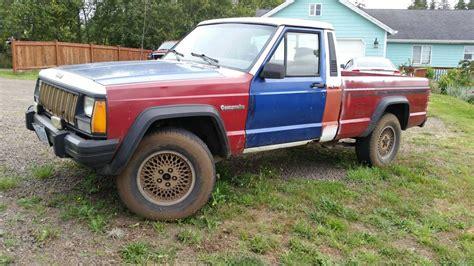 1991 jeep comanche eliminator 1991 jeep comanche eliminator 4x4 v6 manual for sale in