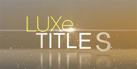 apple motion templates for sale luxe titles by unvi videohive