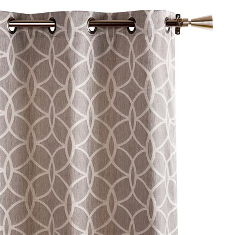 designer curtain panels designer collection vanessa jacquard curtain length 84