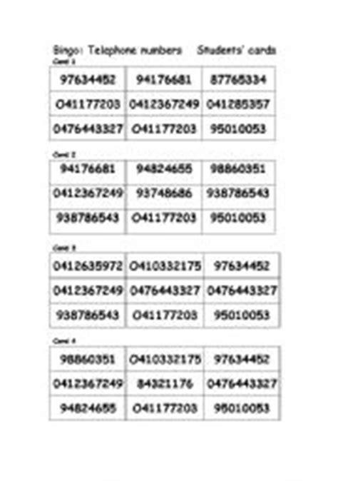 Lookup Australian Phone Number Worksheets