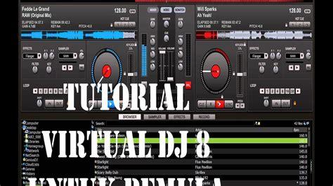 tutorial beatbox suara dj tutorial cara edit suara pake virtual dj 8 bagi pemula