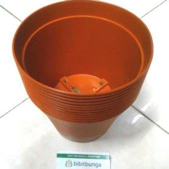 Pot Bunga Vanda 750 Merah Bata pot bunga vanda 1750 merah bata bibitbunga