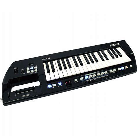 Keyboard Roland Lucina roland roland lucina ax09 keytar synthesizer black