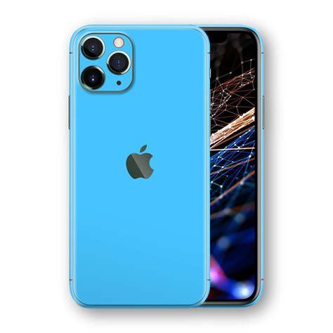 iphone  pro blue matt skin wrap decal easyskinz