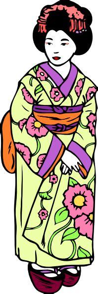 geisha clipart geisha clip at clker vector clip