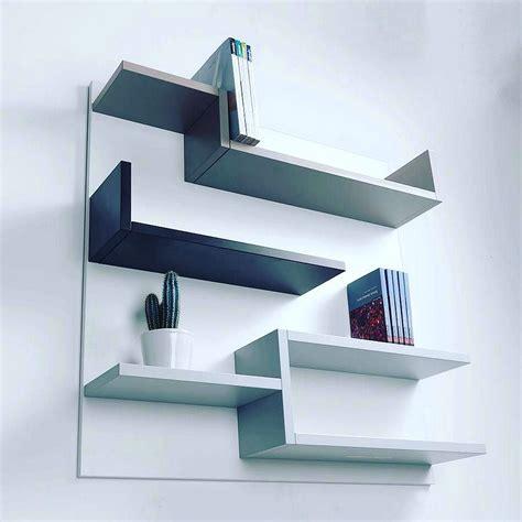 Rak Buku Dinding Modern 28 model rak buku minimalis yang unik terbaru 2018 dekor