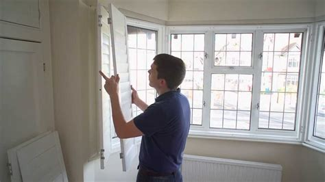 indoor window box and why you should not worry about using how to install a 3 section angled bay window shutter youtube