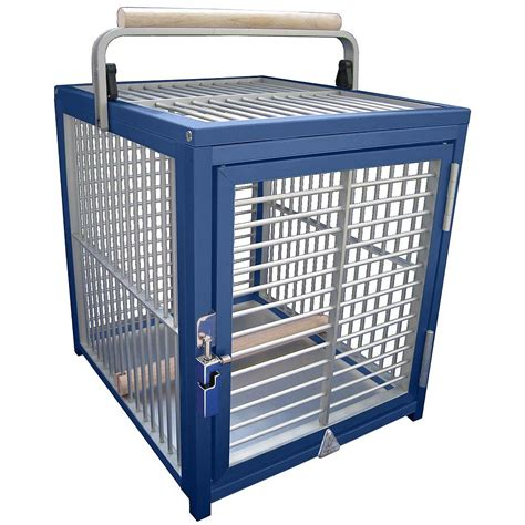 king cages aluminium parrot travel cage small
