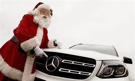 Mercedes In Santa by Mercedes The Nosed Reindeer At The Santa Claus