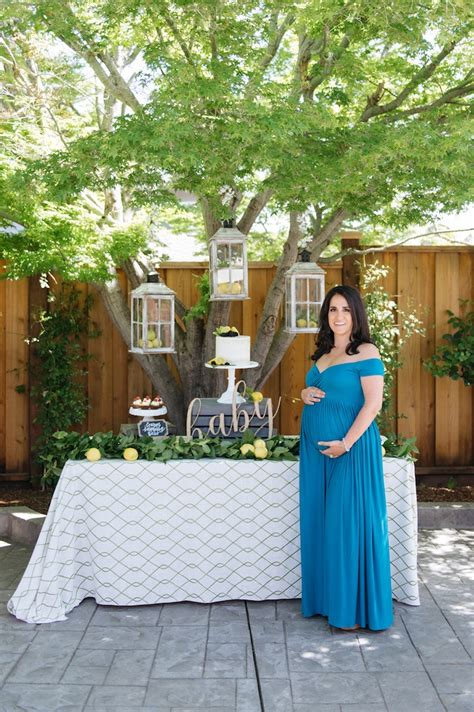 Green Themed Baby Shower by Kara S Ideas Rustic Lemon Themed Baby Shower Kara