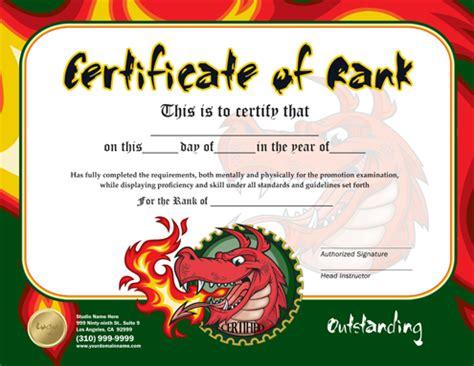 rank certificate 8 5 x 11 ma010505