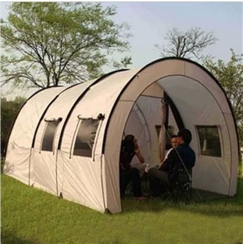 2 bedroom tent outdoor big tent two bedroom tent large tunnel tent cing set jpg